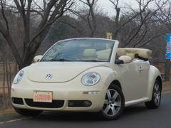 VW ニュービートルカブリオレLZ ディーラー車 右ハンドル 電動オープン