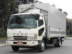 ファイター 3.3トン 生エンジン 6M61 NoxPM適合 タンク100L  6MT 5700ボデー パブコ幌ウイング 6M61 軽油 タンク100L 6速マニュアル Nox・PM適合 ディーゼル