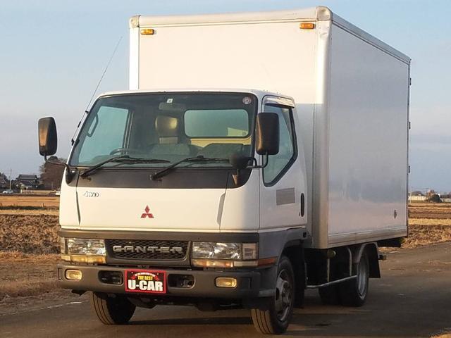三菱ふそう  アルミバン 4WD AC PS PW 5MT ディーゼル 2.83L 4M40 軽油 NOx・PM適合 フォグランプ ETC