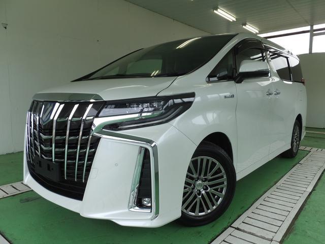 トヨタ アルファードハイブリッド SR CパッケージナビリアモニターETC