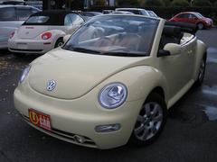 VW ニュービートルカブリオレプラス ブラックレザー キーレス 純正アルミ