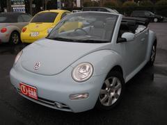 VW ニュービートルカブリオレベースグレード ブラックレザーシート ETC 純正16AW