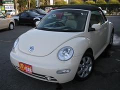 VW ニュービートルカブリオレプラス ベージュレザー ETC