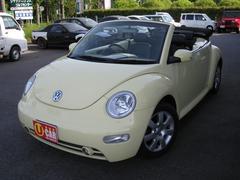 VW ニュービートルカブリオレプラス ブラックレザー 純正16AW クルーズコントロール