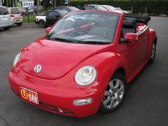 VW ニュービートルカブリオレベースグレード ブラックレザー ETC 純正アルミ