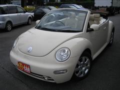 VW ニュービートルカブリオレプラス ベージュレザー 16AW ETC 走行55687Km