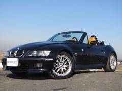 BMW Z3ロードスター2.2i特別装備車 エディション1 黄・黒ナッパレザーシート