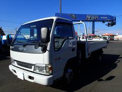 エルフトラック06118 2t4段クレーンラジコン ワイドアウトリガー