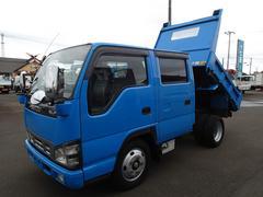 エルフトラック076 Wキャブダンプ 2t標準ショート 極東製