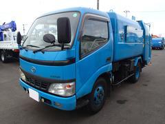 ダイナトラック0719 2tパッカー車 フジマイティ巻込ダンプ式 5立米