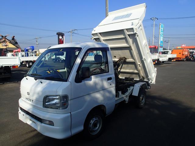 ダイハツ 06129 軽PTOダンプ 4WD 極東製