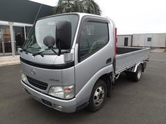 ダイナトラック簡易かるがるクレーン 1.5t平ボディ全低床 ガソリン車