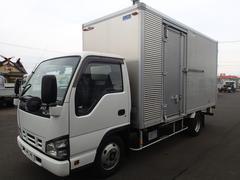 エルフトラック0750 2tアルミバン標準ロングサイドドア付 オートフロア