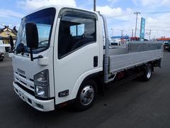 エルフトラック0772 2t平アルミボディ 4WD全低床 垂直パワーゲート