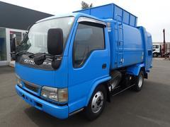 エルフトラック0784 3tパッカー車 新明和製巻込ダンプ式 5.0立米