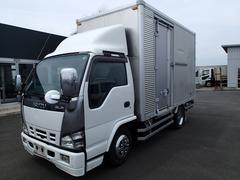 エルフトラック07101 2tアルミバン サイドドア セミロング