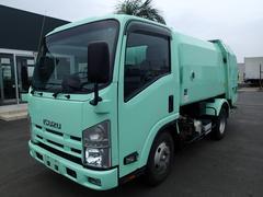 エルフトラック0795 2.9tパッカー車 富士車両5立米 巻込ダンプ式