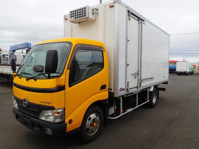 日野 07140 3t中温冷凍車‐5度設定 サイド扉 標準ロング