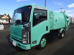 エルフトラック0834 2tパッカー車巻込ダンプ式極東製 4.2立米