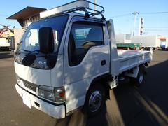 エルフトラック0835 2tダンプ4WD 全低床 インジェクター交換済