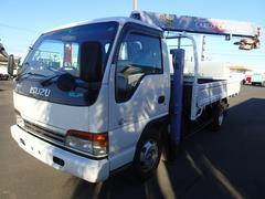 エルフトラック0836 3段クレーンラジコン 2tワイドセルフハイジャッキ