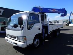 エルフトラック0849 5段クレーン 2tワイドロング リヤジャッキ