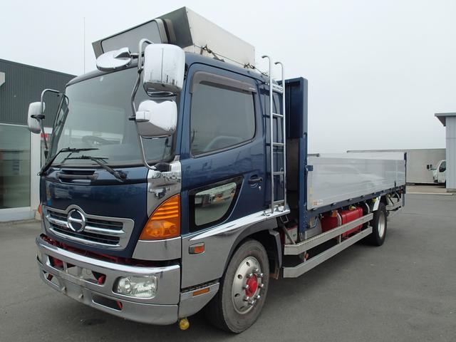 日野 08120 8.5tアルミボディ 増トン車 内寸長571cm