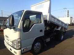 エルフトラック0933 2t強化ダンプ 高床 新明和製 150馬力