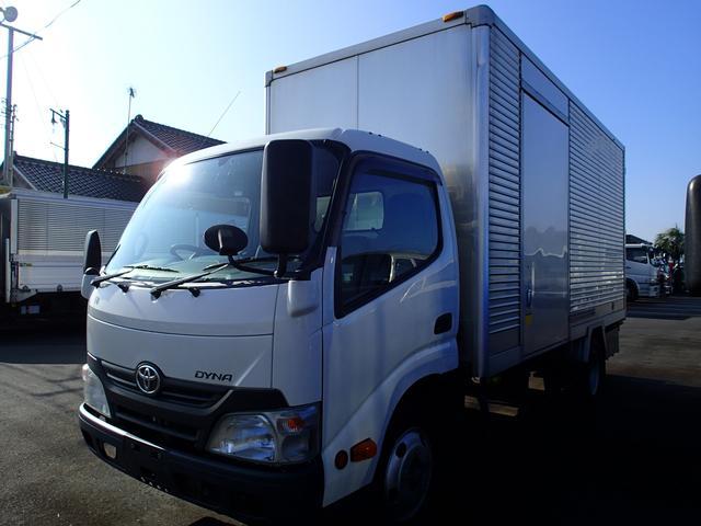 トヨタ 0963 2.95tアルミバン サイドドア 標準ロング