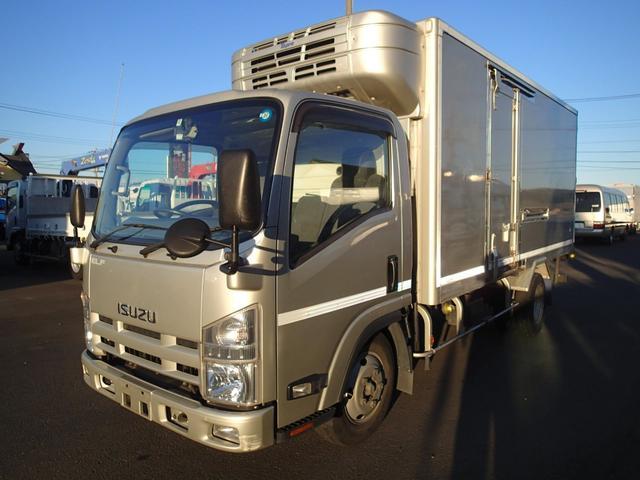 いすゞ 0962 3t中温冷凍車‐5度設定 標準ロング オートマ車