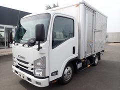 エルフトラック09111 2tアルミバンサイドドアショートオートマチック車