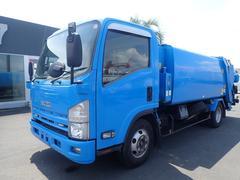 エルフトラック0997 3tワイドパッカー車 モリタ製プレス式 6.7立米