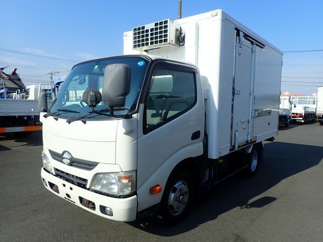 日野 09126 2t中温冷凍車-5度設定 セミロング サイドドア