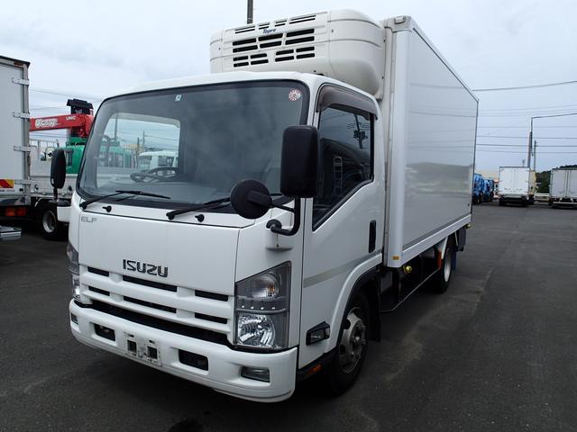 いすゞ エルフトラック 09173 3tワイドロング中温冷凍車‐5度設定 オートマ