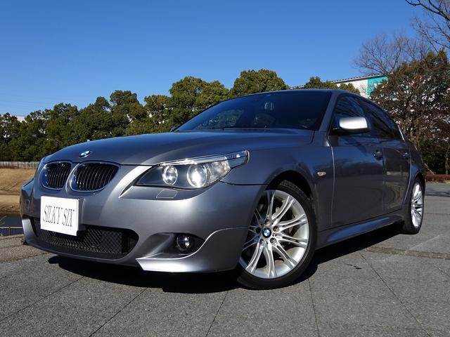 BMW 530iMスポーツパッケージ左H SRブラウン革 プッシュ式