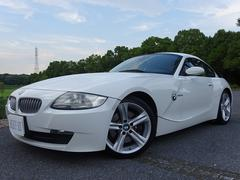 BMW Z4クーペ3.0si左H パドルシフト ベージュ革シート