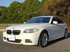 BMW528i Mスポーツパッケージ 黒革 Bカメラ 1オーナー