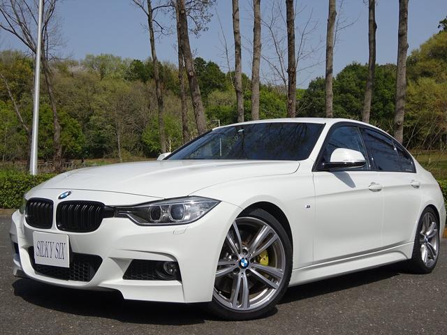 BMW 3シリーズ 320i Mスポーツ BMWパホーマンスブレーキ&ドリルローター&マフラー オプション19アルミ ローダウン ハーマンカードン ブラックキドニー チャージパイプ交換 トランクスポイラー バックカメラ パドルシフト