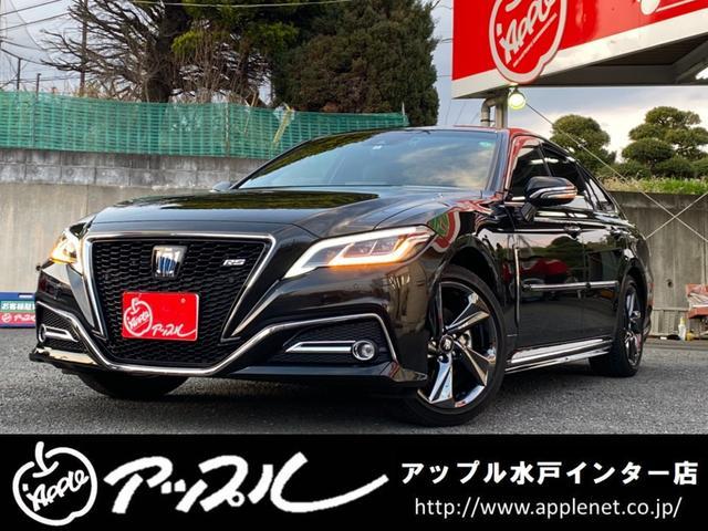 トヨタ RS リミテッド サンルーフ/BSM/合皮ハーフレザーシート/純正ナビ/フルセグTV/Bluetooth対応/TSS