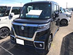 スペーシアカスタムハイブリッドXS 軽自動車 整備付 インパネCVT 保証付