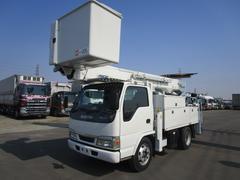 エルフトラックアイチ製14.6m高所作業車 電工仕様