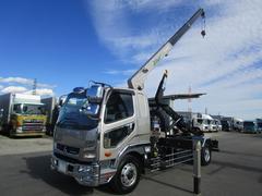 ファイター増トン クレーン付きアームロール積載7.0t