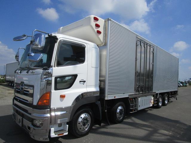 プロフィア  4軸低床 冷蔵冷凍バン 冷凍機サブエンジン式