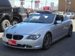 BMW645Ciカブリオレ トリプルモニター 黒革 電動オープン