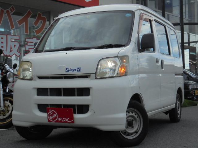 ダイハツ スペシャル 4WD 黒革調シートカバー