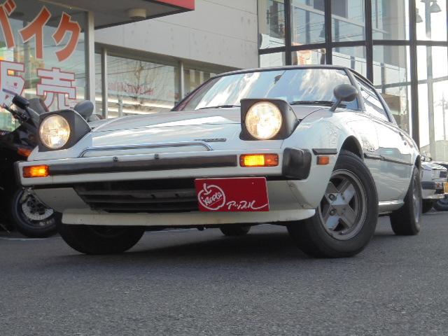 マツダ サバンナRX-7 GT オプションAC リアデッキ アルミ