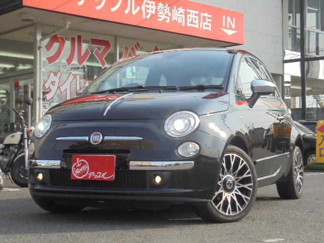 フィアット by GUCCI 300台限定車 ナビ フルセグTV