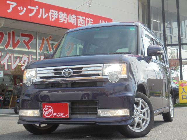トヨタ カスタム G 純正ナビ・フルセグTV・ETC・スマートキー・アイドリングストップ・HID・Bluetoothオーディオ・自光式ナンバー