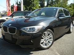BMW116i Mスポーツ 純正HDDナビ Bカメラ ETC