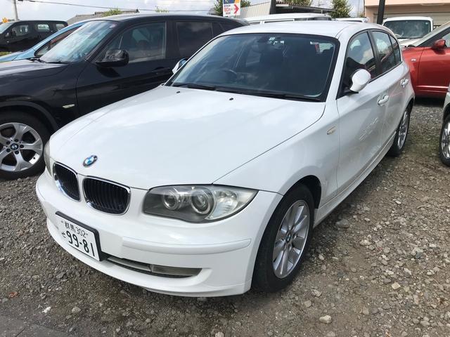 BMW 116i CVT AW ETC オーディオ付 AC 5名乗り ドラレコ
